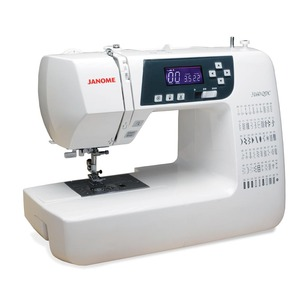 Janome 3160QDC DEMOMemory Thread Cut & N, 60 Stitch Quilters Decor Full Size Computer Sewing Machine LCD, Start Stop, 6x1-Step Buttonholes, Threader 13