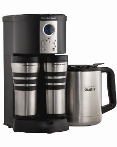 New Hamilton Beach 45237R Stay Or Go Custom Pair Coffeemaker