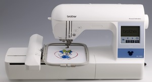 "Brother, PE780D, Demo, +5 Hoops, 5x7""-5x12"", Embroidery Machine, 13 Extras, $310 Values! USB Stick, 170 Designs, 52 Disney, 6 Fonts, 120 Borders, Threader,  Trim, 650SPM"