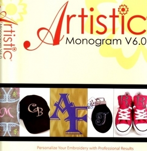 Janome Artistic Monogram 6 Embroidery Software