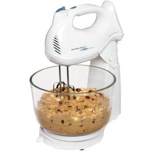 Hamilton Beach 64695N Power Deluxe 6-Speed Hand/Stand Mixer - Shift & Stir, 6 Speeds, 4 Qt.