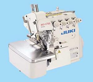 Juki 6714, MO 6714 S-BE6-40H, High-speed, 2-Needle, 4-Thread Overlock, Industrial Serger Machine
