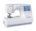 Janome MC9700 Demo, 25/10YrExtendedWnty* (MC9500+Color Screen) 5.5x7.9&quot;Hoop Sewing Embroidery Quilt Machine 96Designs 3Fonts Resize90-120% ATACardPort